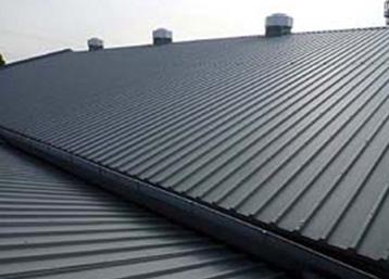 プレス工場の屋根張り替え