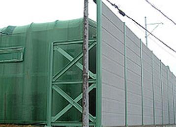 防音壁の延長